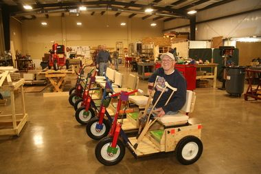 Mobility Carts for the Disabled Began by Dr. Graham